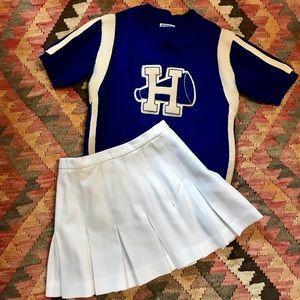 Authentic VTG Wool Cheerleader Uniform